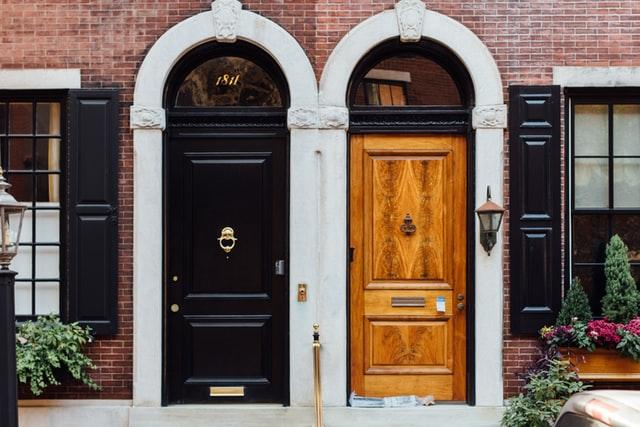 דלתות, דלתות פנים